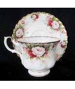 Royal Albert Celebration Cup & Saucer Footed Retired - £21.37 GBP