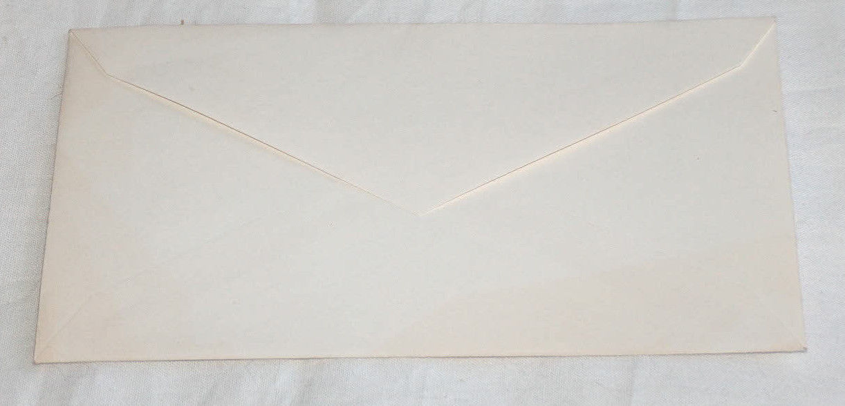 RARE UNUSED HERMAN MELVILLE MOBY DICK WHALE UNITED STATES 6c ENVELOP STAMP VG