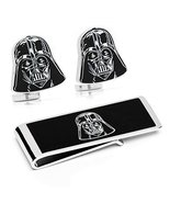 Darth Vader Head Cufflinks and Money Clip Gift Set [Kitchen] - $1.808,05 MXN