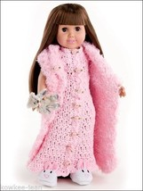 """Dress up fashions for 18"""" doll CLOTHES PATTERNS ACCESSORIES to CROCHET -... - $12.50"""