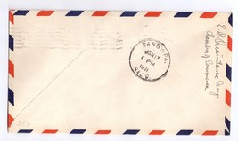 1931 Airport Dedication Lake Wales Florida FL Signed Airmail Event Cover Sc C11 image 2