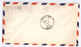 1930 Airport Dedication Raymondville Texas Intermediate Signed Airmail Cover C12 image 2