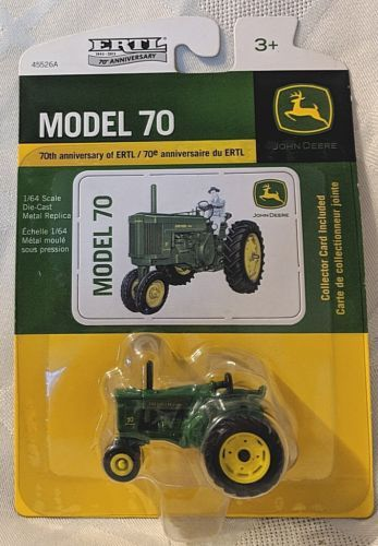 John Deere LP53345 Model 70 Tractor 70TH Anniversary of ERTL