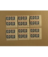 USPS Scott O138 14c Postal Card Rate D 1985 Lot Of 6 Plate Block Mint NH - $65.91