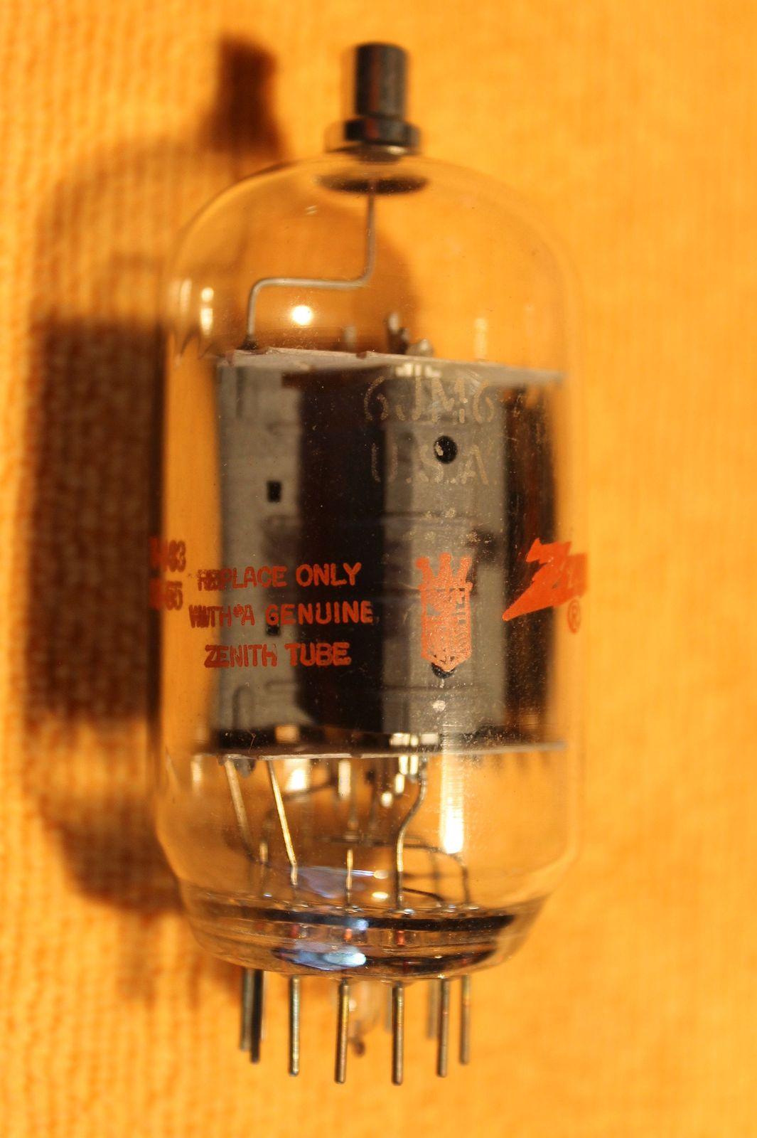 Vintage Radio Vacuum Tube (one): 6JM6 - Tested Good