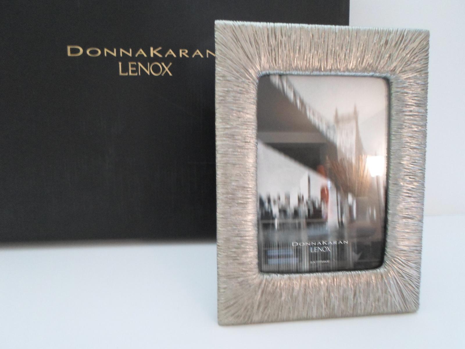 Donna Karan Lenox Wrap Silver 5 X 7 Frame and 50 similar items