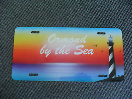 Ormond By The Sea Florida Sunset Souvenir License Plate - $14.99