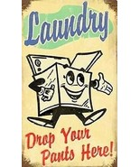 """Laundry """"Drop Your Pants Here"""" Magnet - $7.99"""