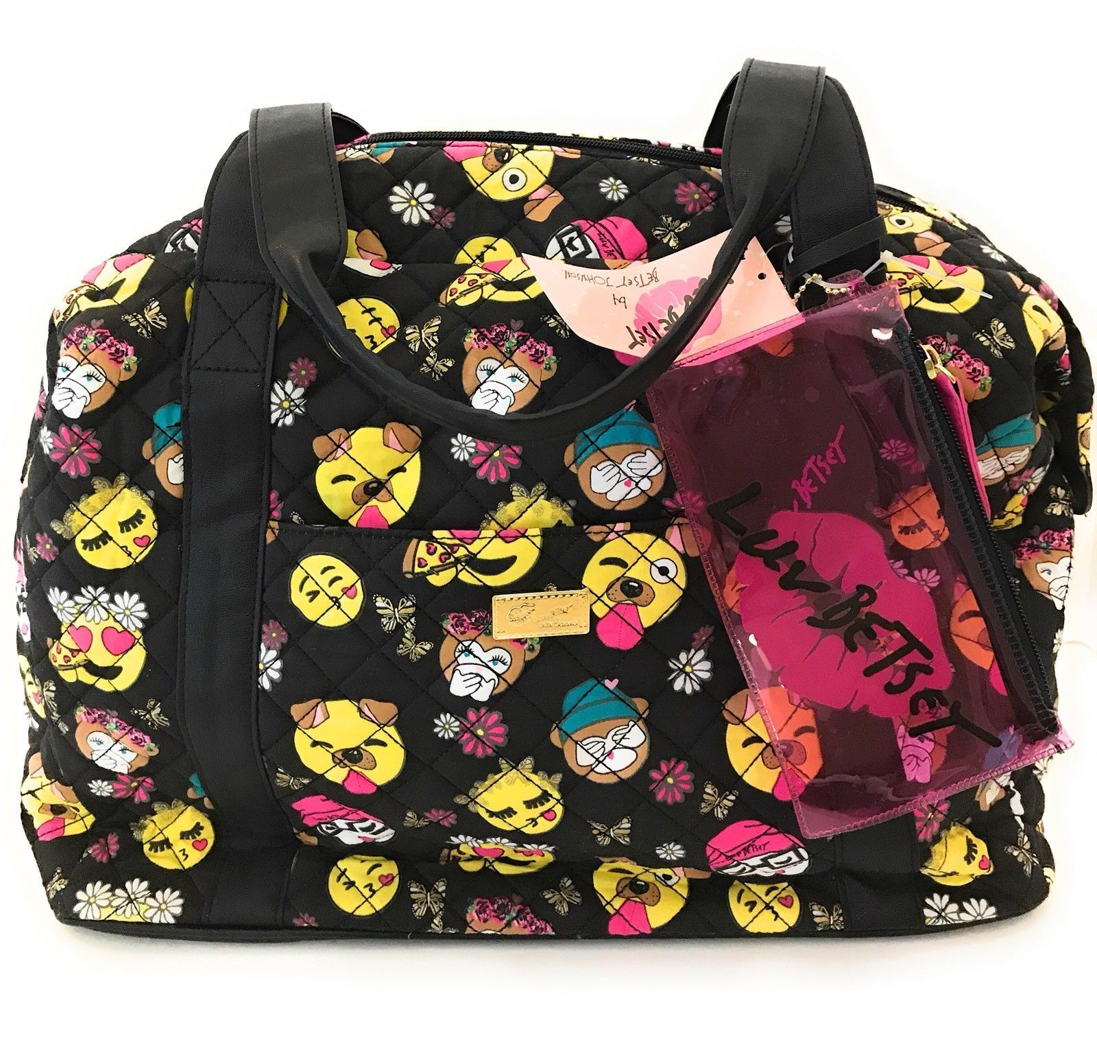 Luv Betsey Johnson Lbplayyr Emoji Quilted And 50 Similar Items