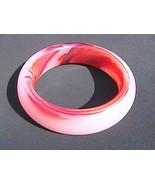 Jade Swirl Design Bangle Size 7 - $75.00