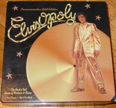 ELVISOPOLY COMMEMORATIVE GOLD ED ROCK N ROLL GAME OF FORTUNE & FAME NIB ... - $20.00