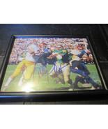 Allen Pinkett ND Run vs USC 8x10 Photo Framed C... - $7.19