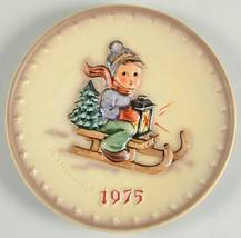 Hummel Annual Plate 1975 Ride Into Christmas   - $35.99