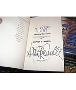 At First Sight SIGNED by Stephen J. Cannell ARC (2008) 1ST/1ST - $93.36