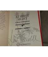 At First Sight SIGNED by Stephen J. Cannell  (2008) 1ST/1ST - $30.71