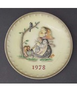 Hummel Annual Plate 1978 HAPPY PASTIME - Boxed   - $21.99