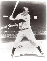 Hank Greenberg Detroit Tigers 1 Vintage 8X10 BW Baseball Memorabilia Photo - $5.99