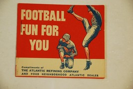 Football Fun For You - Atlantic Refining Oil Lubrication Company - $27.71