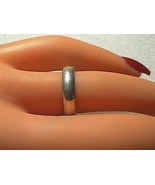 Sterling Silver Band Ring Size 5 - $15.00