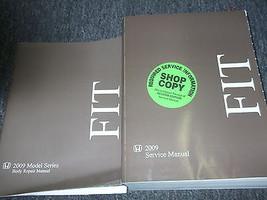 2009 Honda Fit Service Shop Repair Manual Book Factory Oem Dealership Book - $209.83