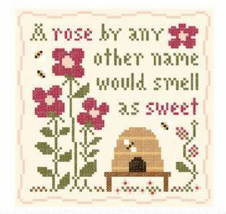 2 FLOSS + FREE CHART Sweet Rose Classic Colorworks Little House Needleworks - $4.30