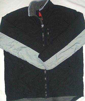 "Mossimo Men's Warm Fleece Jacket Black Size M Polyester ""In Good Condition""!!"
