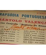 RAPSODIA PORTUGUESA SIGNED BY BARTOLO VALENCIA  - $41.94