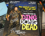 Ding Dong Dead (DVD, 2011) CAST SIGNED 9X CREEPERSIN