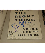 DO THE RIGHT THING SIGNED BY SPIKE LEE 1989 PB BOOK - $79.34