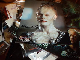 Star Trek First Contact Alice Krige Hand Signed 8 X10 Photo - $32.62