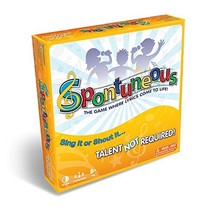 The Song Game Sing Shout It Spontuneous Yellow Party Board Games Family ... - $34.38
