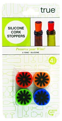 Bottle Stoppers, Starburst Silicone Funny Novelty Reusable Wine Bottle Stopper