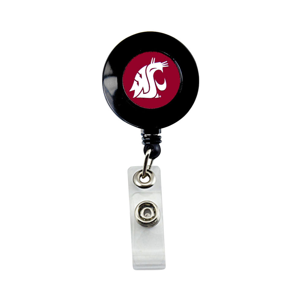 Primary image for NCAA Washington State Cougars Retractable Badge Reel Id Ticket Clip