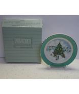 Avon Miniature Christmas Plate