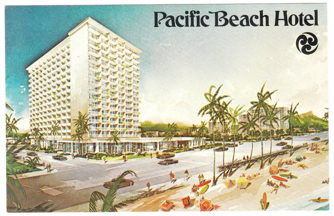 Vintage Postcard Pacific Beach Hotel Waikiki And 50 Similar Items