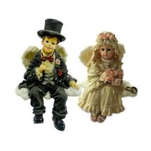 "Boyds Wee Folkstone Faeries ""Bride & Groom Set""-  #36103- NIB- Retired - $39.99"