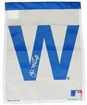 John Mallee Signed Chicago Cubs 11x15 White 'W' Garden Flag - $39.95