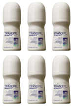 Lot of 6 AVON Tranquil Moments Roll-on Anti-Perspirant Deodorant 75ml / ... - $7.79