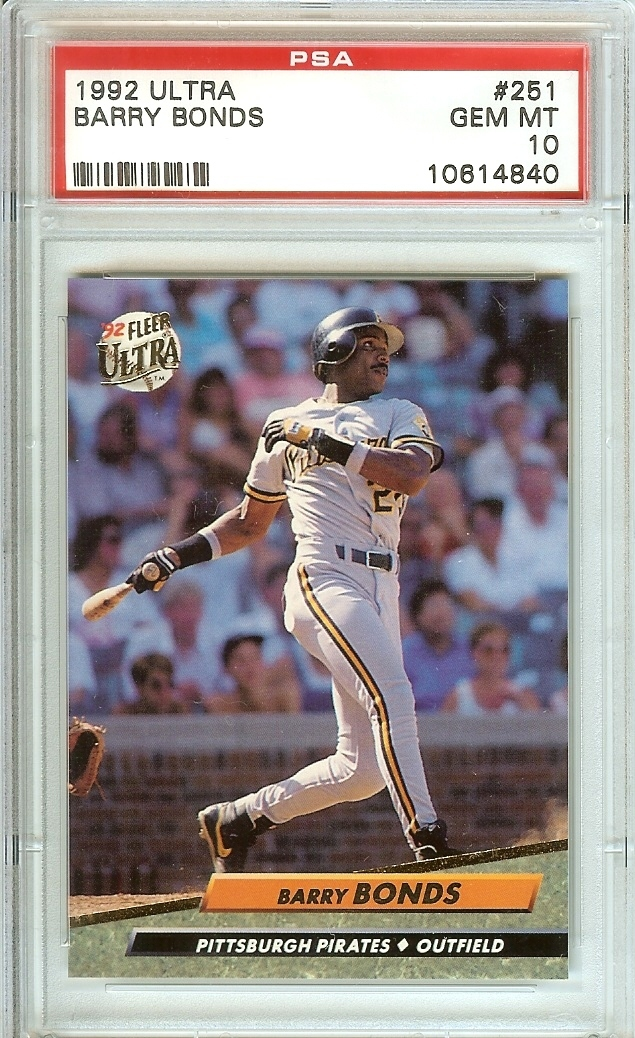 Primary image for 1992 ultra barry bonds psa 10 giants graded