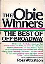The Obie Winners - The Best of Off-Broadway by Ross Wetzsteon (1980) - $2.95
