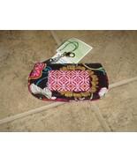 Vera Bradley Mod Floral Pink Clip Zip ID Case - $16.98