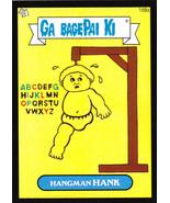 2013 GARBAGE PAIL KIDS BNS3 **HANGMAN HANK** #168a BLACK BORDER - $0.99