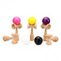 Bheema Child Kid Wooden Kendama Ball PU Paint Traditional Game Skill Toys
