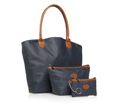 3 Piece Navy Classic Tote [Misc.]