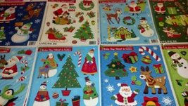 WINDOW CLING DECORATIONS - TOTAL 2 PCS FOR HOLIDAYS [Kitchen]