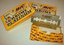Bic Chrome Platinum Double Edge Razor Blades - 30 Ct [Misc.]