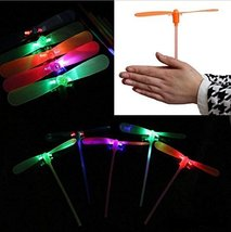 Led Light Flash Dragonfly Luminous Dragonflies - 5 Pieces with Color Maybe Vary
