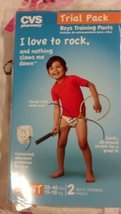 CVS TRIAL 2 PACKS BOYS TRAINNING PANTS - (3T-4T, 32-40LBS, 15-18KG)