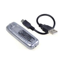 BestDealUSA Durable USB Powered Electronic Cigarette Lighter Rechargeable Silver