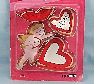 Fox Run Sweetheart Cookie Cutter Set [Kitchen]